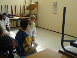 Compagne ophtalmo à ENS Martil 2011